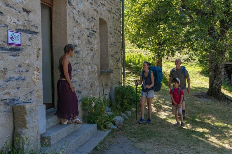 Location de vacances - Gîte à Ornon - Accueil des randonneurs