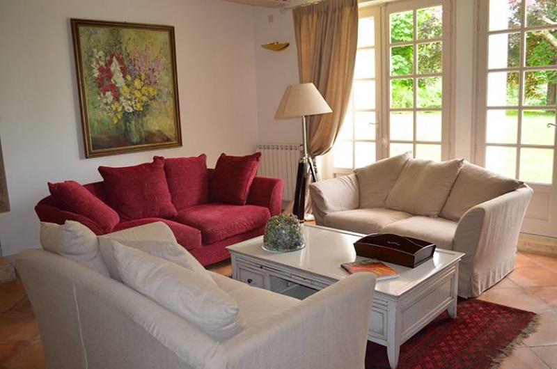 Location de vacances - Chambre d'hôtes à Douchapt - Séjour