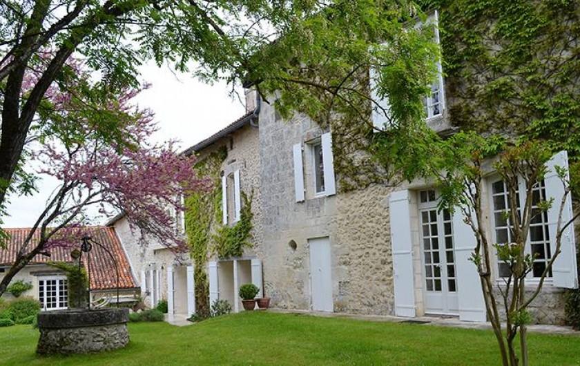 Location de vacances - Chambre d'hôtes à Douchapt - La Maison