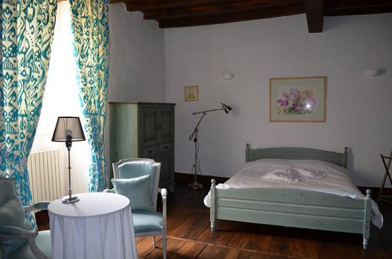 Location de vacances - Chambre d'hôtes à Douchapt - Chambre Les Lilas