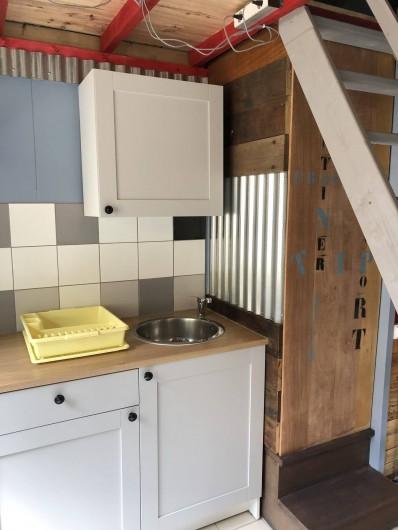 Location de vacances - Camping à Lincou - cuisine Factory