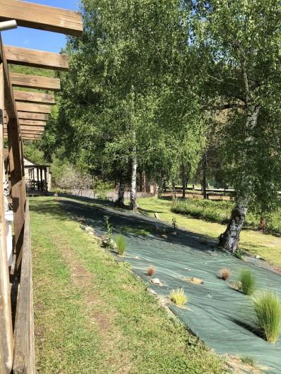 Location de vacances - Camping à Lincou - espace vert du Domaine