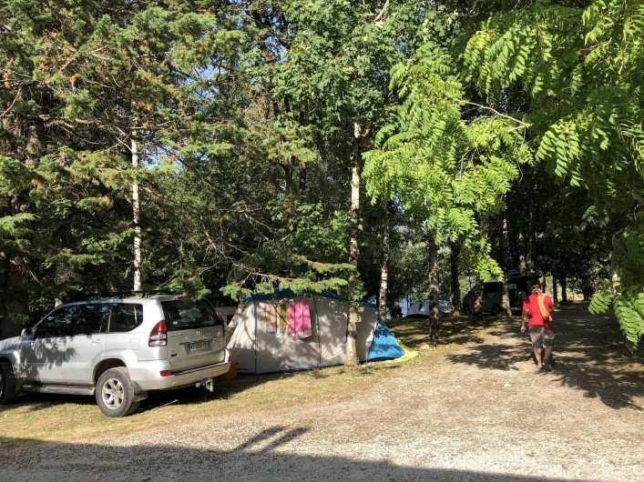 Location de vacances - Camping à Lincou - Terrain de camping