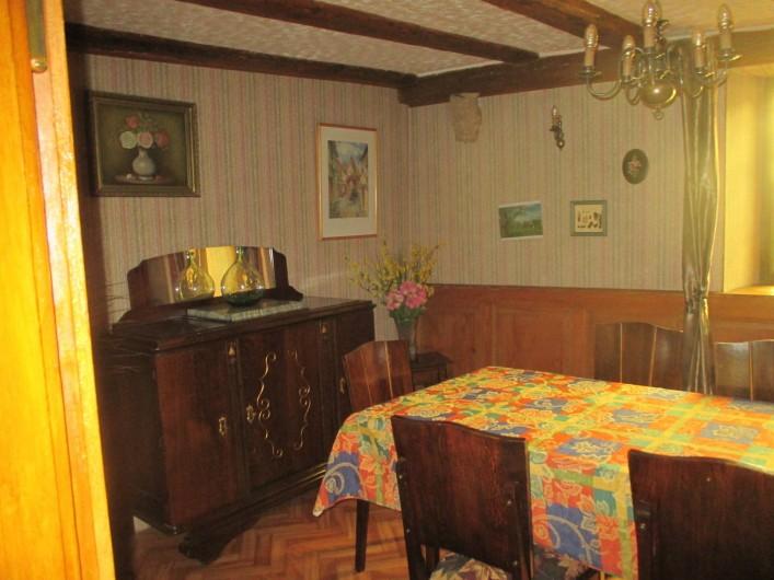 Location de vacances - Mas à Eguisheim - salle à manger