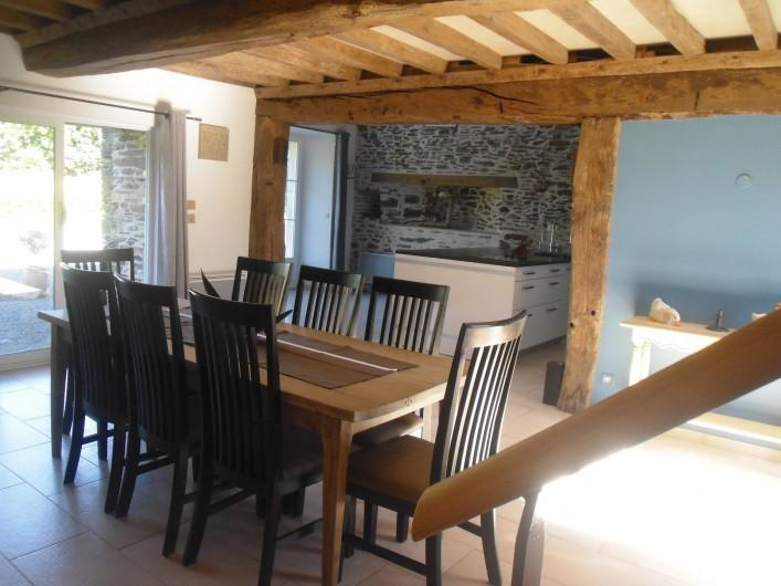 Location de vacances - Gîte à Litteau - coté salle à manger