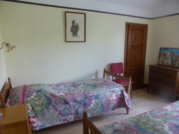 Location de vacances - Chalet à Combloux - Chambre 3