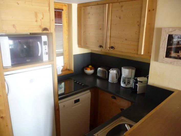 Location de vacances - Appartement à La Plagne - Coin cuisine