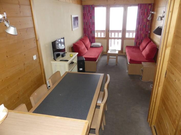 Location de vacances - Appartement à La Plagne - Salon séjour