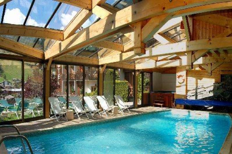 location de vacances appartement morzine piscine couverte et chauffe