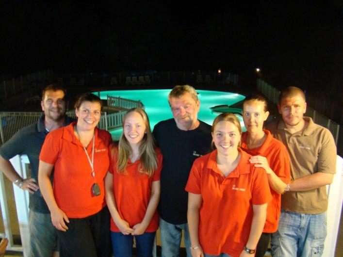 Location de vacances - Bungalow - Mobilhome à La Cassagne - l'équipe familiale...