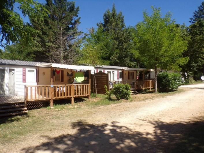 Location de vacances - Bungalow - Mobilhome à La Cassagne - mobil-homes 3 chambres