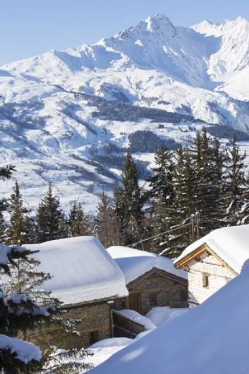 Location de vacances - Chalet à Landry - VUE DEPUIS LA ROUTE D'ACCES