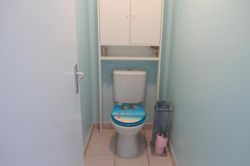 Location de vacances - Appartement à Faverges - WC séparé