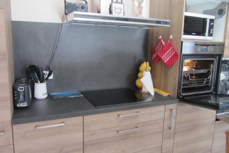 Location de vacances - Appartement à Faverges - plaque à induction et four à pyrolyse hotte