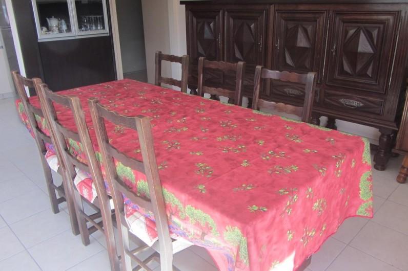 Location de vacances - Appartement à Faverges - salle à manger