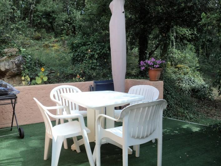 Location de vacances - Maison - Villa à Montauroux - Terrasse