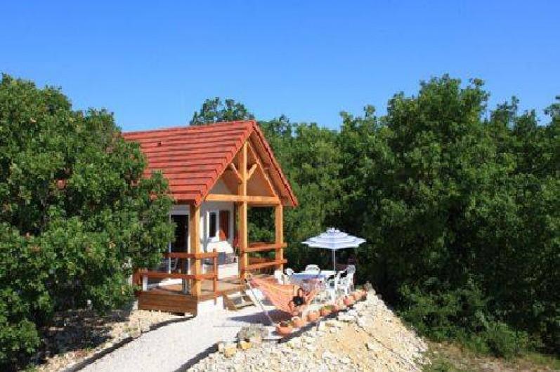 Location de vacances - Gîte à Orliaguet - Chalet Le Pech