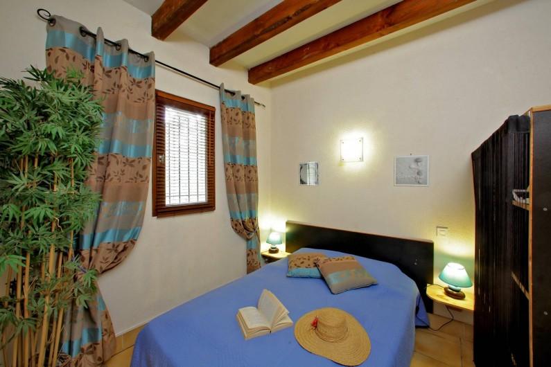 Location de vacances - Gîte à Orliaguet - Chambre lit double