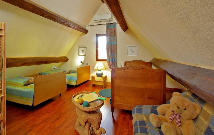 Location de vacances - Gîte à Orliaguet - Chambre  enfant
