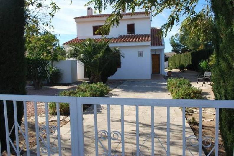 Location de vacances - Villa à L'Ametlla de Mar - Façade