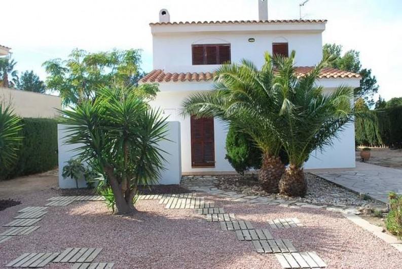 Location de vacances - Villa à L'Ametlla de Mar - Jardin