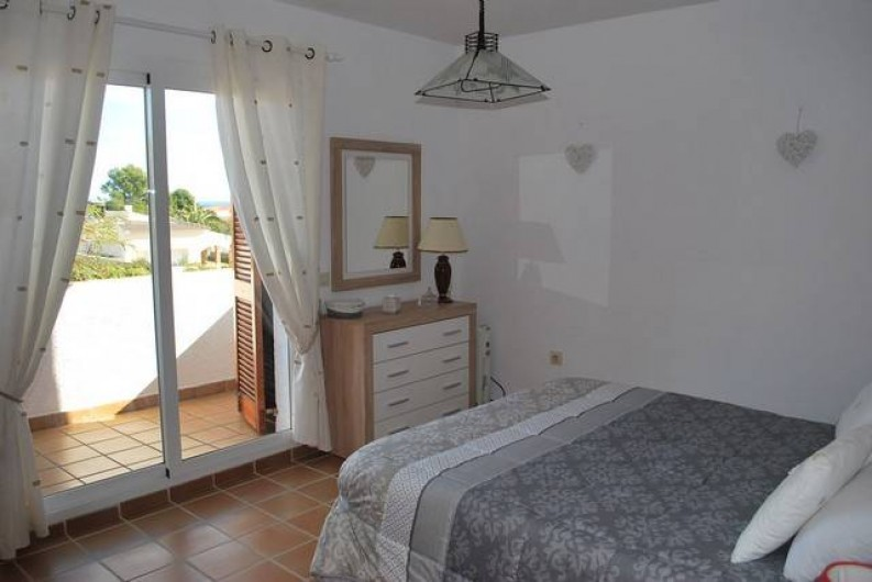 Location de vacances - Villa à L'Ametlla de Mar - Chambre double