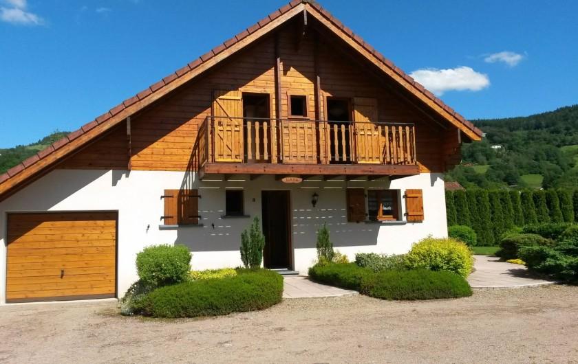 Location de vacances - Chalet à Le Menil - Entrée principale