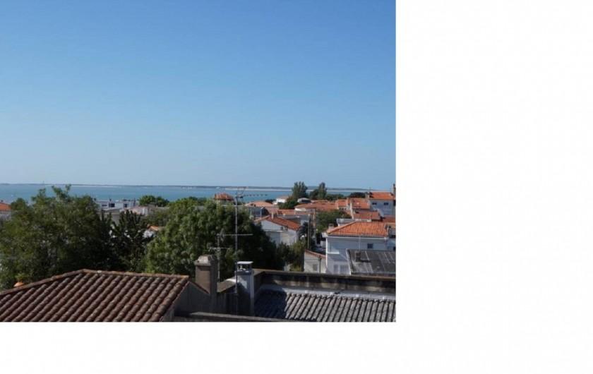 Location de vacances - Appartement à Royan - Vue du balcon