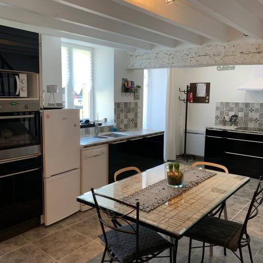 Location de vacances - Maison - Villa à Vineuil - entrée et cuisine ouverte