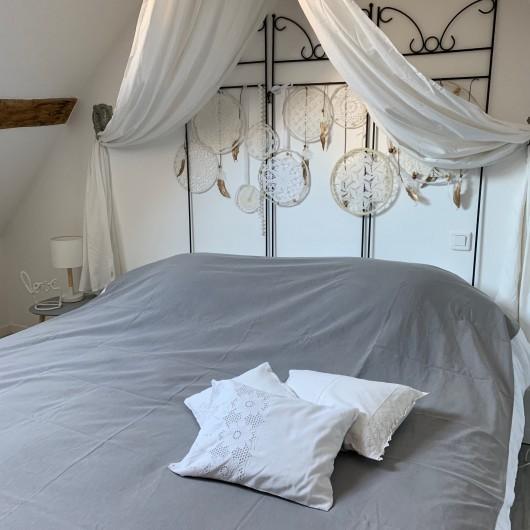 Location de vacances - Maison - Villa à Vineuil - chambre parents