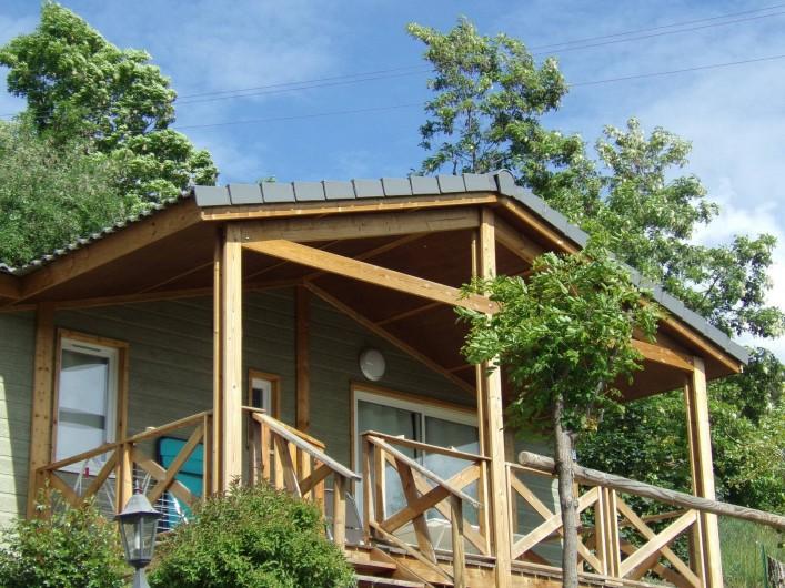 """Location de vacances - Chalet à Saint-André-d'Embrun - Chalet """" Les marmottes"""""""