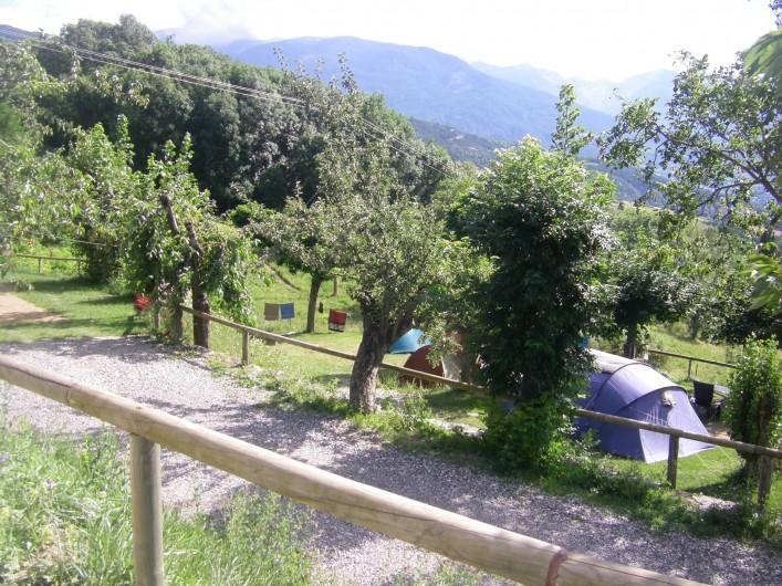 Location de vacances - Chalet à Saint-André-d'Embrun - Emplacement