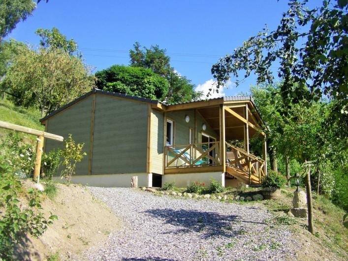 """Location de vacances - Chalet à Saint-André-d'Embrun - Chalet """" les marmottes"""" à louer"""