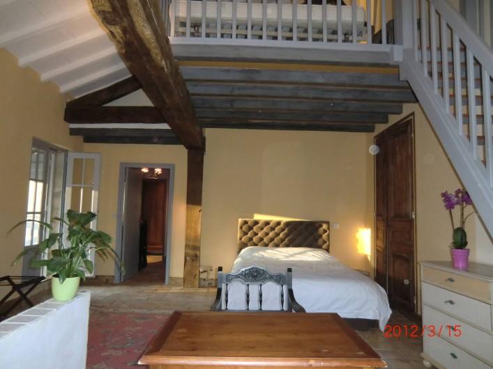 Location de vacances - Maison - Villa à Fourcès - Chambre 1