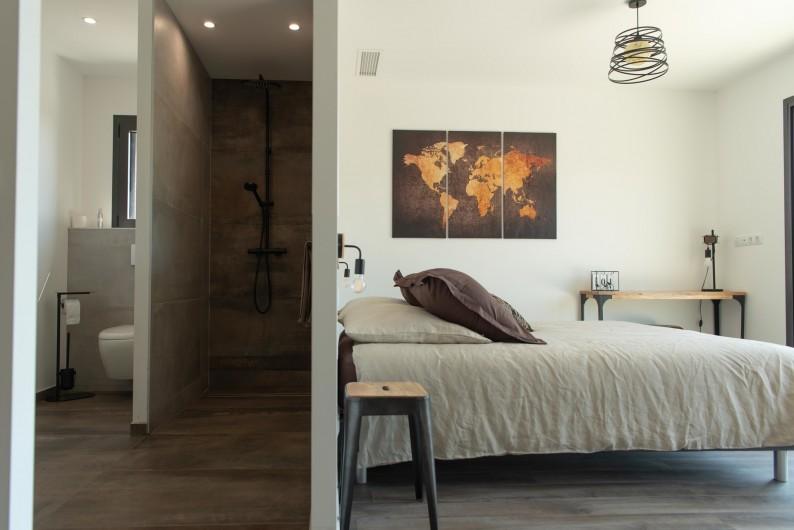 Location de vacances - Villa à Callian - Salle de bain chbre parentale 2
