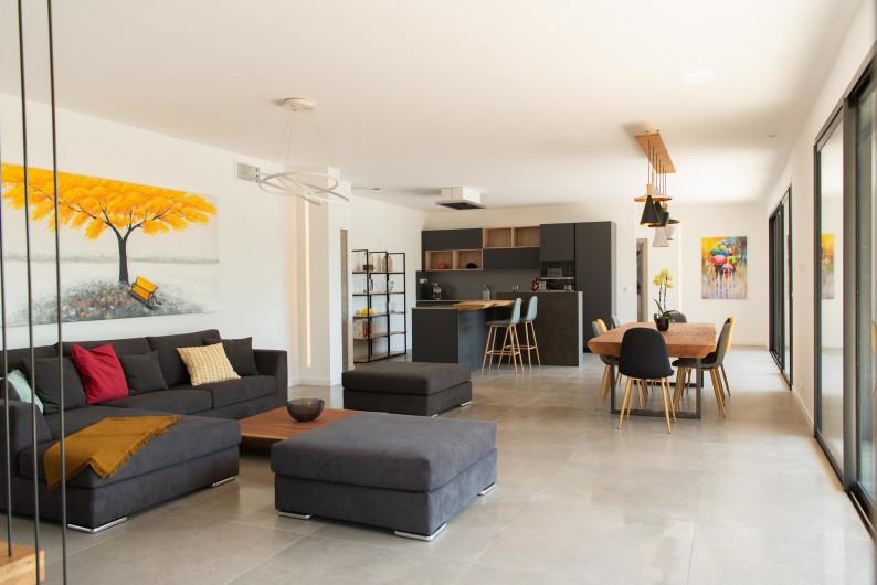 Location de vacances - Villa à Callian - Pièce à vivre