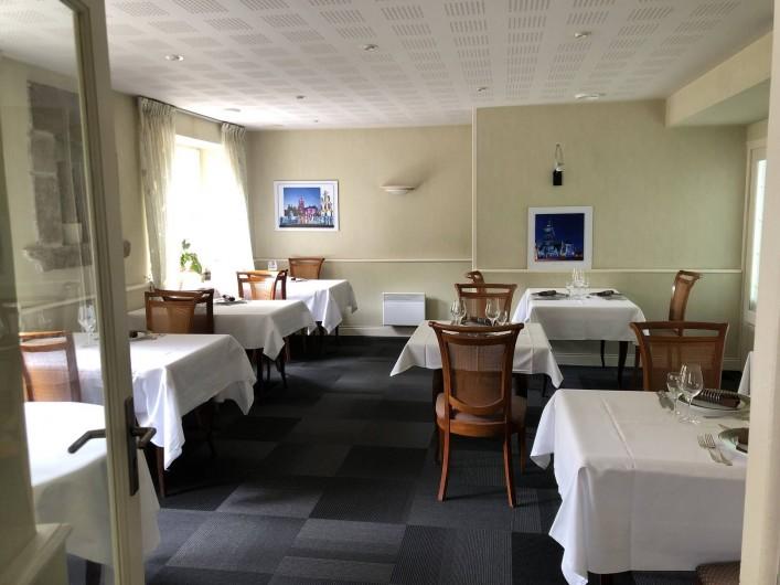 Location de vacances - Hôtel - Auberge à Saint-Thégonnec - Restaurant