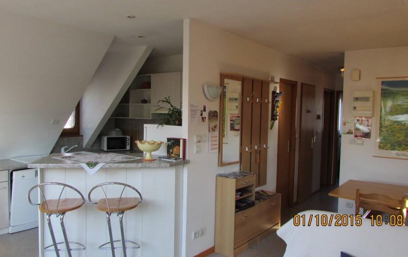 Location de vacances - Appartement à Wintzenheim
