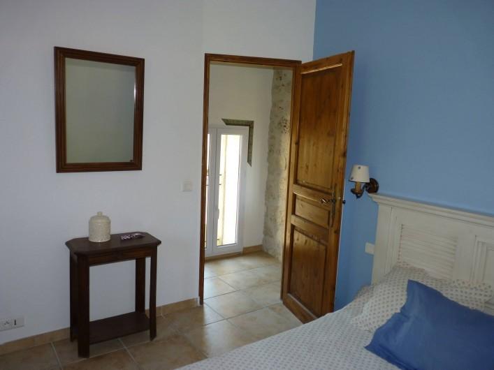 Location de vacances - Mas à Châteauneuf-du-Rhône - Chambre Jas du Bas