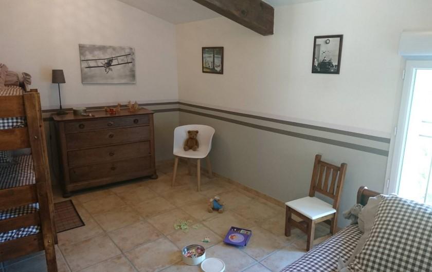 Location de vacances - Mas à Châteauneuf-du-Rhône - Mini dortoir Jas du Bas