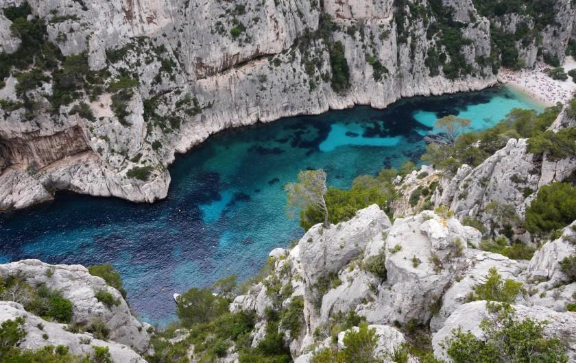 Location de vacances - Mas à Villelaure - Les calanques de Marseille (1heure20 de la ferme)