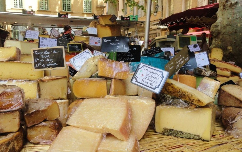Location de vacances - Mas à Villelaure - Marchés de Provence (dans tous les villages voisins)