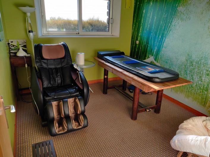 Location de vacances - Villa à Barneville-Carteret - Salle massage