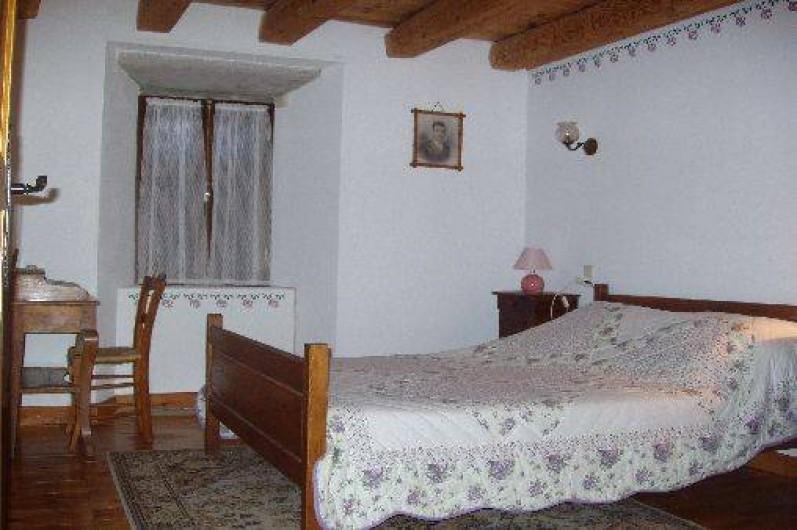 Location de vacances - Gîte à La Panouse - La chambre des parents