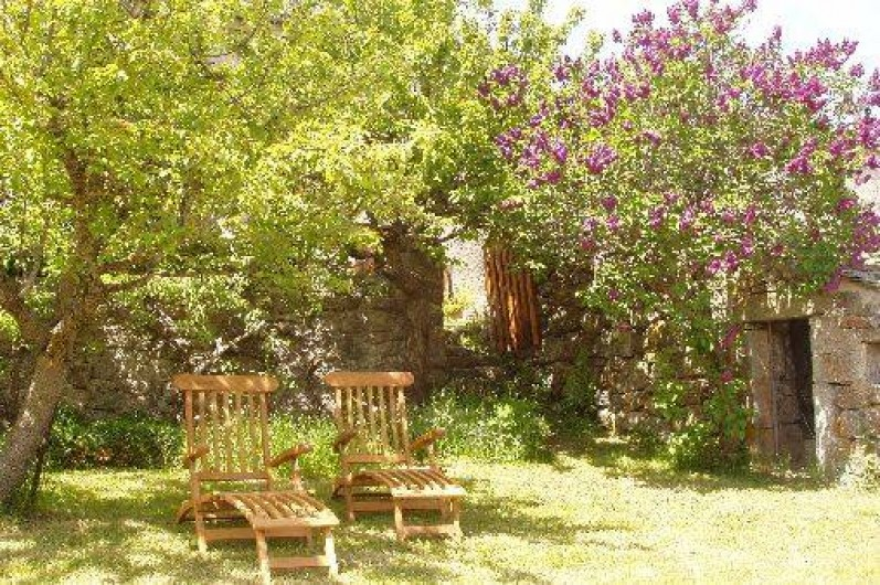 Location de vacances - Gîte à La Panouse - A l'ombre du poirier