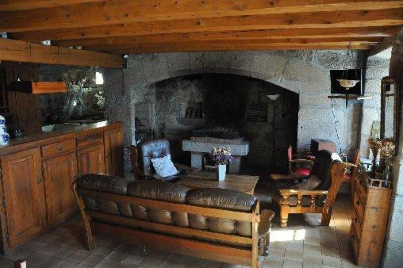 Location de vacances - Gîte à La Panouse - Coin salon