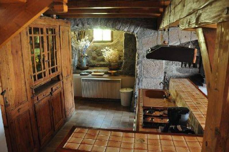 Location de vacances - Gîte à La Panouse - Cuisine