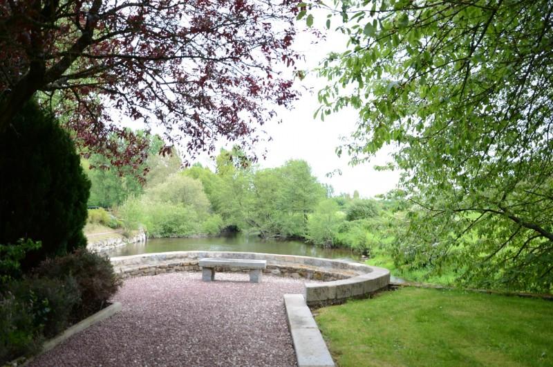 Location de vacances - Maison - Villa à Tessy-Bocage - Belvédère donnant sur l'amont de la Vire.