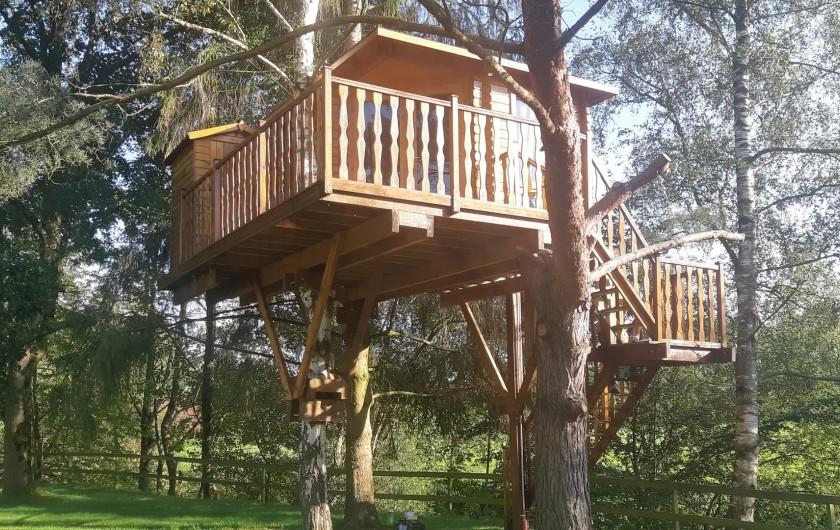 Location de vacances - Maison - Villa à Tessy-Bocage - La cabane à 4 mètres de hauteur.