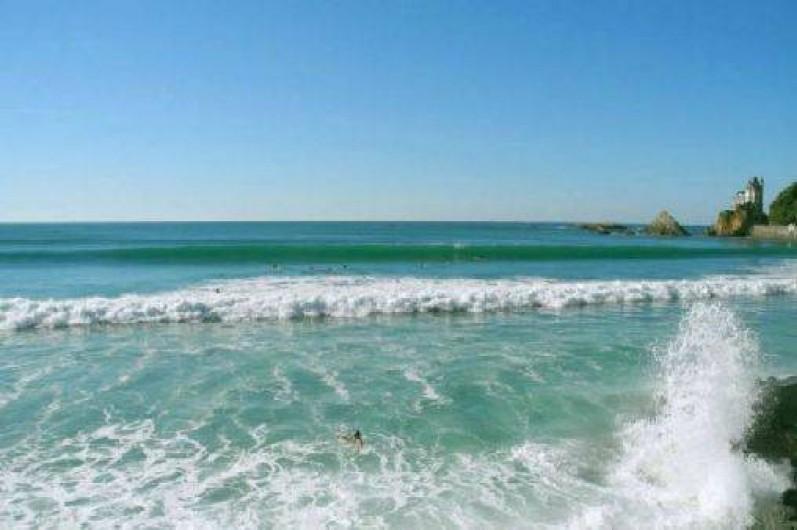 Location de vacances - Camping à Biarritz - Plage des Basques